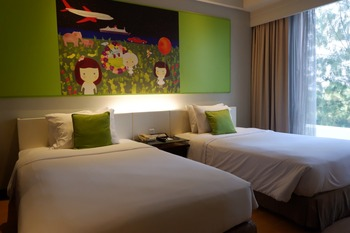 Grand Candi Hotel Semarang - Deluxe Twin - Room Only Regular Plan