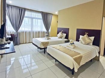 Hotel Aero Deli Serdang - Suite Twin Regular Plan