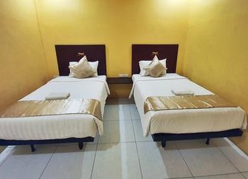 Hotel Aero Deli Serdang - Deluxe Twin Room Regular Plan