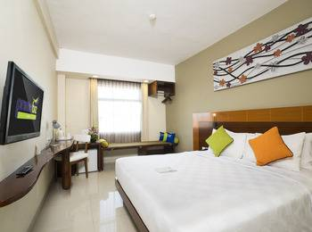 Prime Biz Kuta - Deluxe Double or Twin Room  Super Deal 50% Non Refund with Breakfast