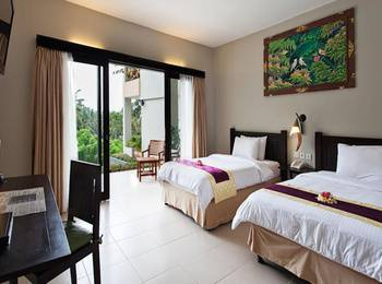 Kebun Villas & Resort Lombok - SEROJA TWIN BEDROOM ( FREE MINI BAR ) SEPTEMBER PROMO