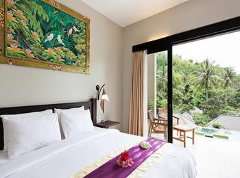 Kebun Villas & Resort Lombok - DAHLIA DOUBLE BEDROOM ( FREE MINI BAR ) 72 Hour Deal