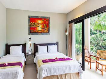 Kebun Villas & Resort Lombok - KAMBOJA FAMILY ROOM ( FREE MINI BAR ) Best Deal Non Refundable