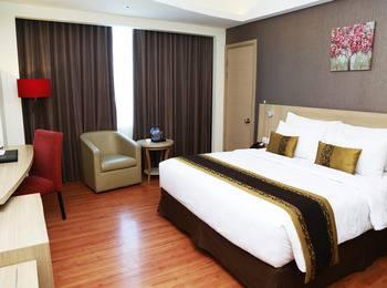 Galaxy Hotel Banjarmasin Banjarmasin - Deluxe Double Bed, Room Only Regular Plan