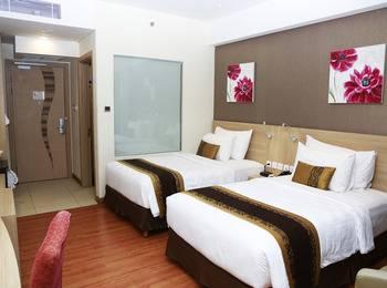 Galaxy Hotel Banjarmasin Banjarmasin - Deluxe Twin Bed, Room Only Regular Plan