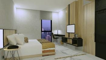BBC Hotel Lampung Bandar Jaya Lampung Tengah - Deluxe King Room Only Regular Plan