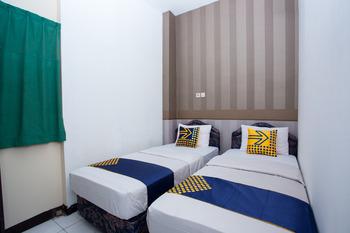 SPOT ON 2589 Marina Residence Semarang - Spot On Twin Regular Plan