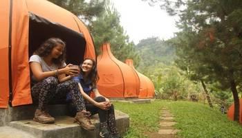 The Lodge Maribaya Bandung - Double Share Tent  Ramadhan Kareem
