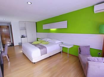 Accordia Dago Hotel Bandung - Deluxe Balcony Regular Plan