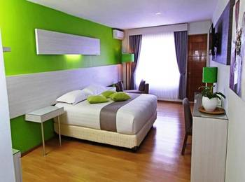 Accordia Dago Hotel Bandung - Deluxe Balcony Room Only Special Friday Room Only Promo