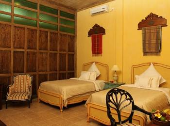 Kayu Arum Resort Salatiga - Kamar Superior Twin Regular Plan