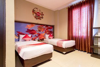 OYO 711 Salam Residence Syariah Medan - Suite Twin Regular Plan