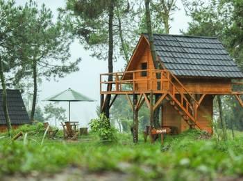 Papandayan Camping Ground Garut - Tree House Regular Plan