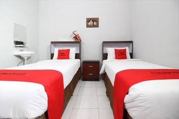 RedDoorz Plus @ Hotel Star 88 Yogyakarta - RedDoorz Twin Room Regular Plan