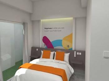 Oriza Hotel Perak Surabaya Surabaya - Deluxe Room Room Only Regular Plan