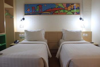 MaxOne Hotels Vivo Palembang - Junior Superior Twin Room Only Regular Plan