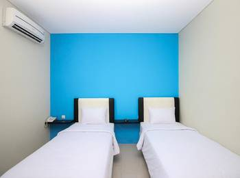 Go Sleep Guest House Balikpapan - Standard Twin Room Only Regular Plan