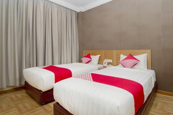 OYO 865 Halim Hotel Tanjung Pinang - Deluxe Twin Room Regular Plan