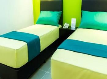 Hotel Santun Cirebon Syariah Cirebon - Standard Twin Room Regular Plan
