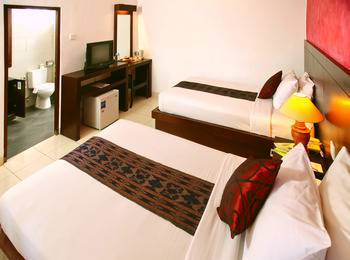 Puri Sading Hotel Bali - Deluxe Garden View Room Only Save More