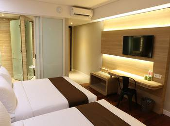 Grand Citihub Malang - Superior Twin Room Only Regular Plan