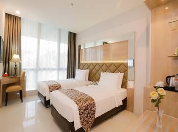 Daily Inn Hotel Jakarta Jakarta - Deluxe Twin Room Regular Plan