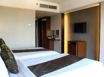 Salak Tower Hotel Bogor - Superior Twin Room Only Regular Plan