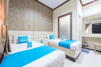 Airy Syariah Klojen Pasar Besar Square 124 Malang - Standard Twin Room Only Regular Plan