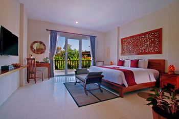 Ashoka Tree Resort at Tanggayuda Bali - Kamar Deluxe Pemandangan Taman dan Kolam Early Bird I 15D