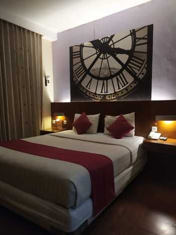 Lovender Coliving Malang - Deluxe Double Regular Plan