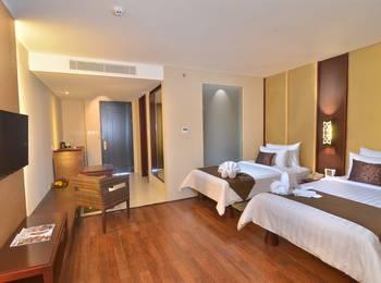 Swiss-Belresort Watu Jimbar - Grand Deluxe Pool View Twin Room Monthly Promotion