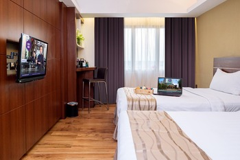 Da Vienna Boutique Hotel Batam - Deluxe Twin Regular Plan