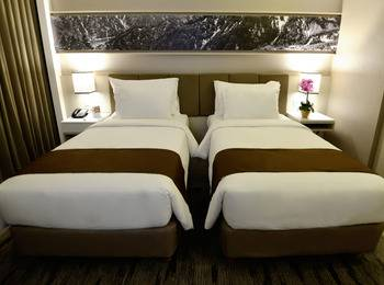 Swiss-Belhotel Jambi - Deluxe Twin Room Only Regular Plan
