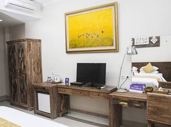 Tinggal Premium Cottage Ubud Raya Pengosekan Bali - Standard Room Romantic Stay - 50%