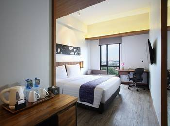 BATIQA Hotel Palembang - DELUXE DOUBLE BREAKFAST BASIC DEAL RB