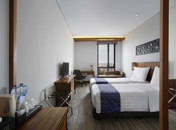 BATIQA Hotel Palembang - DELUXE TWIN BREAKFAST BASIC DEAL RB
