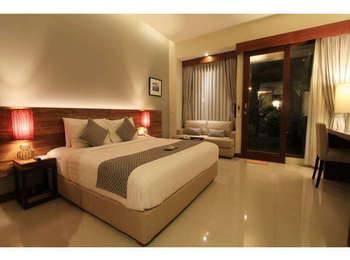 Uma Karan Seminyak Bali - Deluxe Pool View With Breakfast Refundable Regular Plan