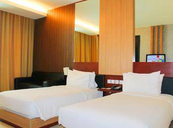 Hotel Santika Tasikmalaya - Deluxe Room Twin Staycation Offer Regular Plan
