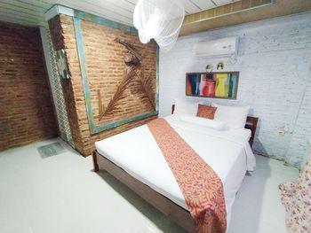 Etnik Bali Villa and Resto Kubu Selem Bandar Lampung - Bima 1 Standard Room Breakfast Regular Plan