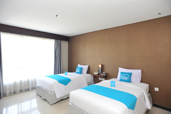 Airy Kuta Simpang Dewa Ruci Griya Anyar 27 Bali - Superior Twin Room Only Regular Plan