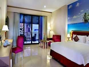 Kuta Central Park Hotel Bali - Studio Room With Breakfast Special Promo 2 Nite
