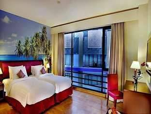 Kuta Central Park Hotel Bali - Deluxe Room Dengan Sarapan Same Day Deal Promo 53% No refund