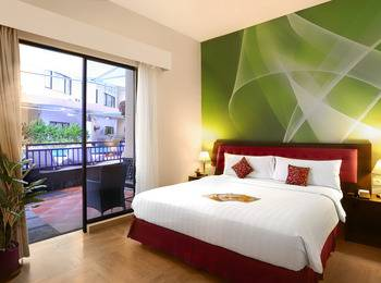 Kuta Central Park Hotel Bali - Deluxe Room With Breakfast Promo Stay HEPI