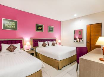 Kuta Central Park Hotel Bali - Standard Triple with breakfast WEEKEND PROMOTION 56% OFF