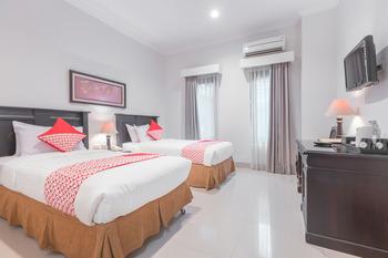 OYO 534 Sriwijaya Hotel Jakarta - Deluxe Twin Room Regular Plan