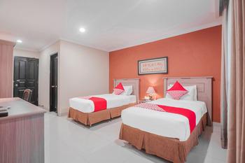 Capital O 534 Sriwijaya Hotel Jakarta - Standard Twin  Room Regular Plan