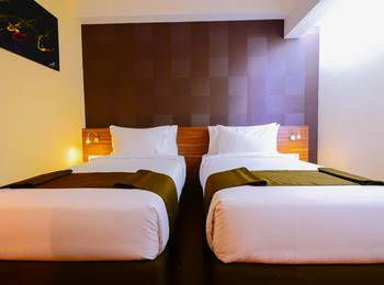 PRIME PARK Hotel Pekanbaru Pekanbaru - Deluxe Room Regular Plan