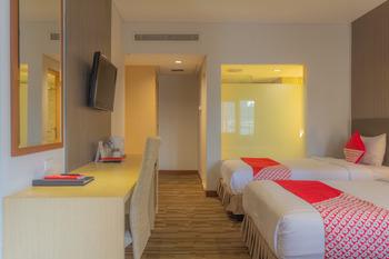 Collection O 7 Hotel Melawai Jakarta - Standard Twin Room Regular Plan