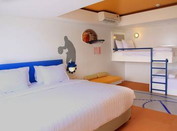 Berry Glee Hotel Bali - Family Room Basic Deals 25%