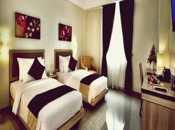 Orchardz Hotel Ayani Pontianak - Superior Room Twin Room Only - Flash Sale Regular Plan